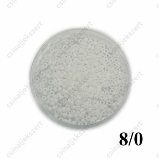 Opak Fehér / Opaque White 9402 5g 8/0