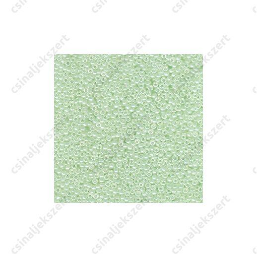 Miyuki kásagyöngy 11/0 Extra halvány Zöld 9371 5g