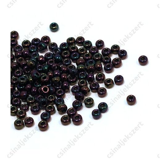 Miyuki kásagyöngy 8/0 Metál sötét szilva irizáló 9454 5g