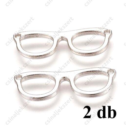 Antikolt ezüst színű szemüveg kapcsoló elem