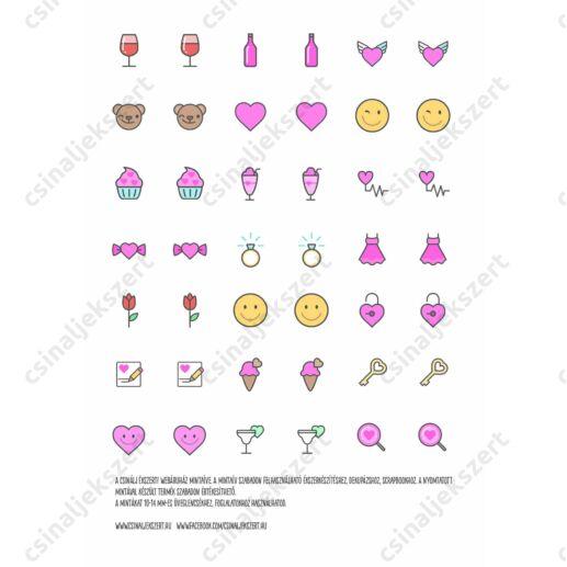 Minta ív love Icon 1. 10-14 mm