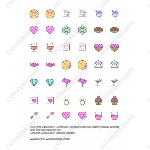 Minta ív love Icon 3. 10-14 m