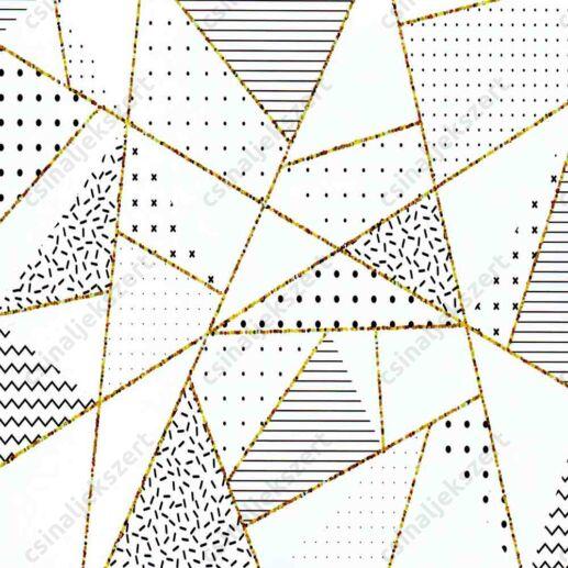 Geometrikus romantika üveglencsés ékszer papír (332)
