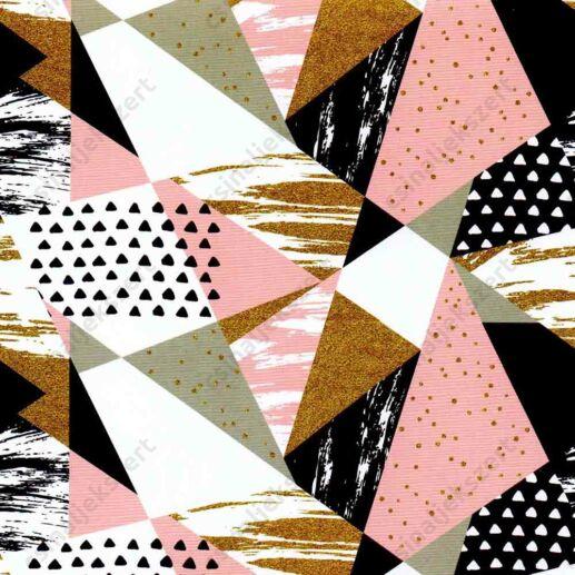Geometrikus romantika üveglencsés ékszer papír (334)