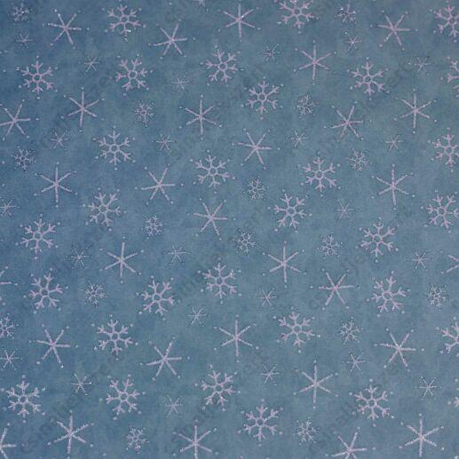 Karácsony éjjele csillámos üveglencsés ékszer papír (304)