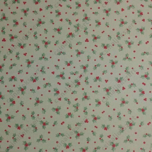 Karácsony éjjele üveglencsés ékszer papír (308)