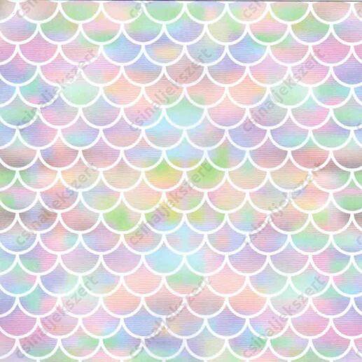 Szivárványvilág üveglencsés ékszer papír (359)