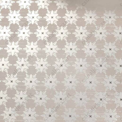Varázslat és Csillogás ezüstfóliás üveglencsés ékszer papír (230)