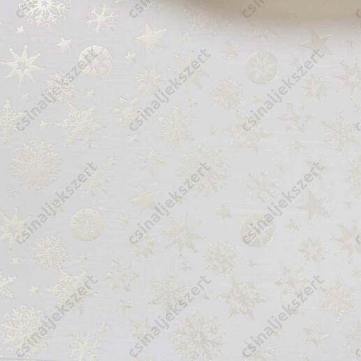 Varázslat és Csillogás ezüstfóliás üveglencsés ékszer papír (231)