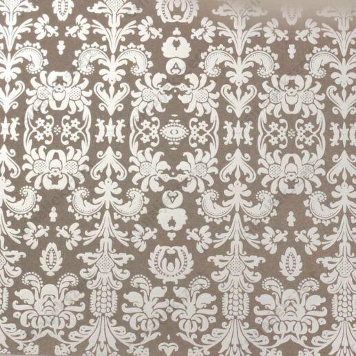 Varázslat és Csillogás ezüstfóliás üveglencsés ékszer papír (232)