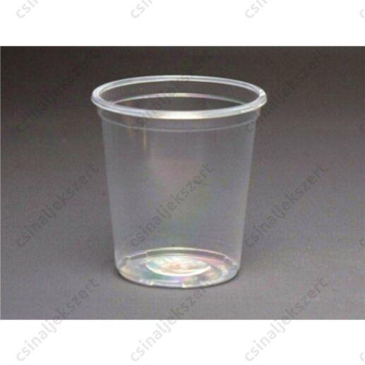 5 db 1 dl-es eldobható műanyag pohár