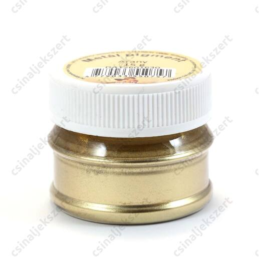 15 g Arany színű Metál Pigmentpor