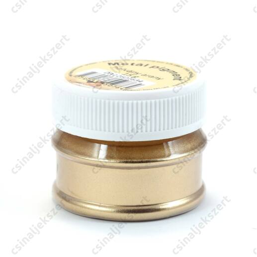 15 g Halvány Arany színű Metál Pigmentpor