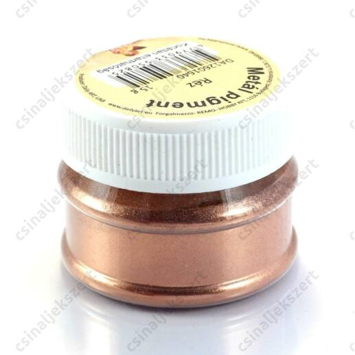 15 g Réz színű Metál Pigmentpor