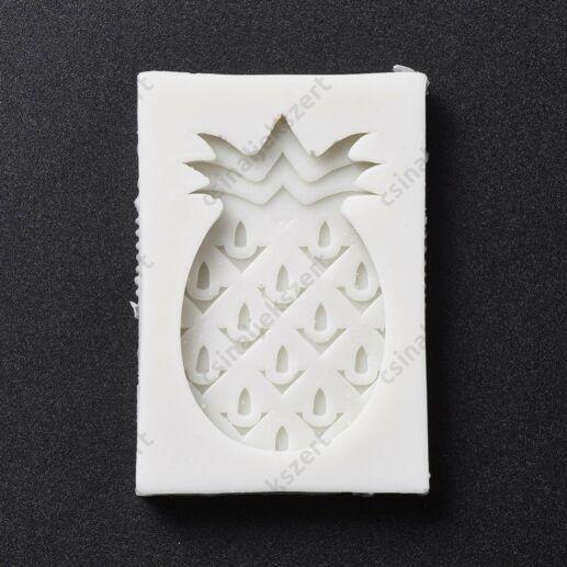 Ananász szilikon öntőforma