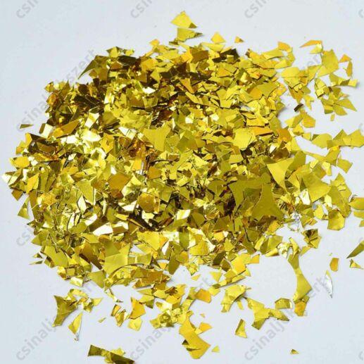 Arany színű pehely