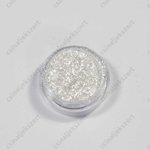Fehér ezüst színű Metál Pigmentpor