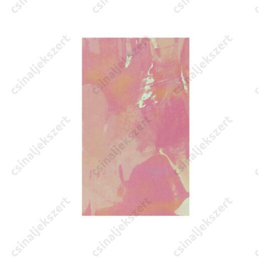 Fényes, tükrös fólia Rózsaszín