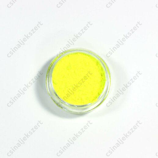 Neon Sárga pigmentpor