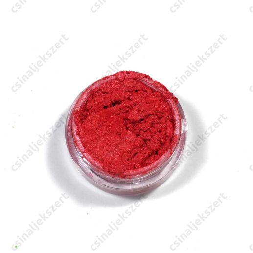 Piros színű Metál Pigmentpor
