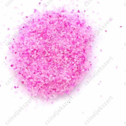 Rózsaszín 1-2 mm apró kavics