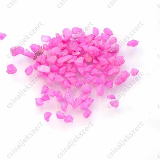 Rózsaszín 3-5 mm apró kavics