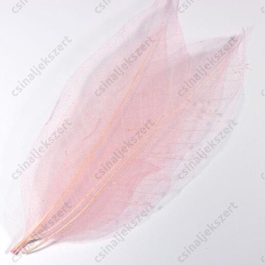 10 db rózsaszín hosszú Fátyollevél
