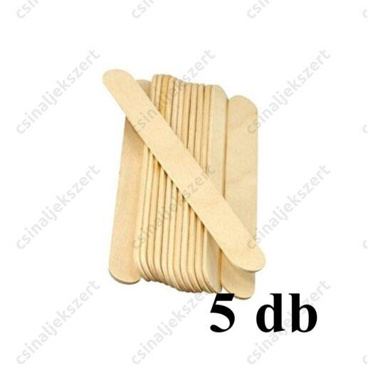 5 db Vastag fa spatula