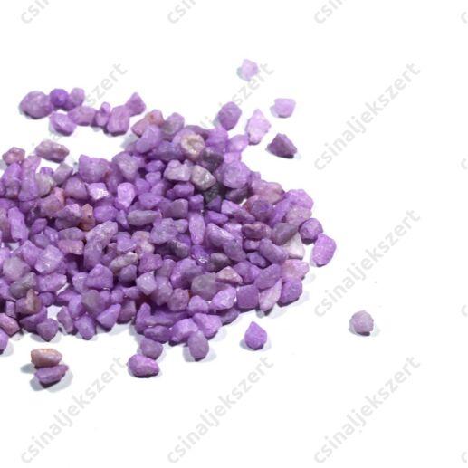 Világos lila 3-5 mm apró kavics
