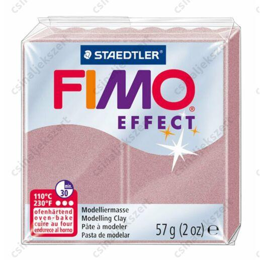 Fimo Effect süthető gyurma 56g Gyöngyház Rózsa Arany Rosegold 207