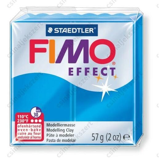 Fimo Effect süthető gyurma 56g Áttetsző kék / Transparent blue 374