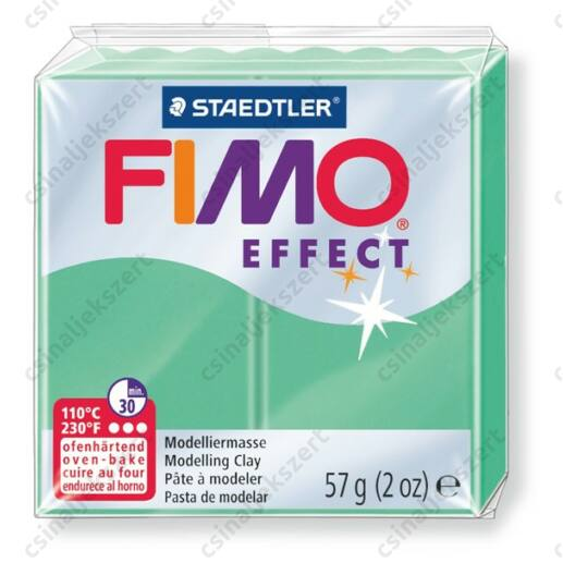 Fimo Effect süthető gyurma 56g Jáde 506