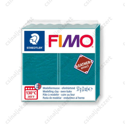 Fimo Leather süthető gyurma 56g Lagúna / Lagoon 369