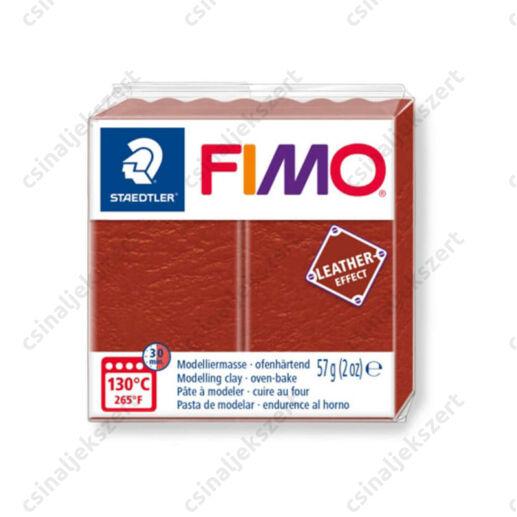 Fimo Leather süthető gyurma 56g Rozsda / Rust 749