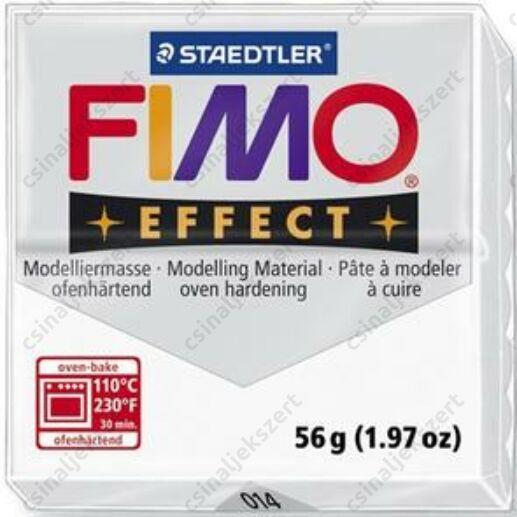 Fimo Effect süthető gyurma 56g Áttetsző fehér / Transparent white 014