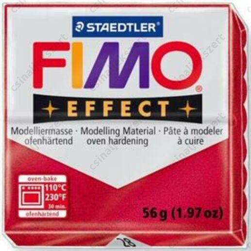 Fimo Effect süthető gyurma 56g Metál Rubin 28