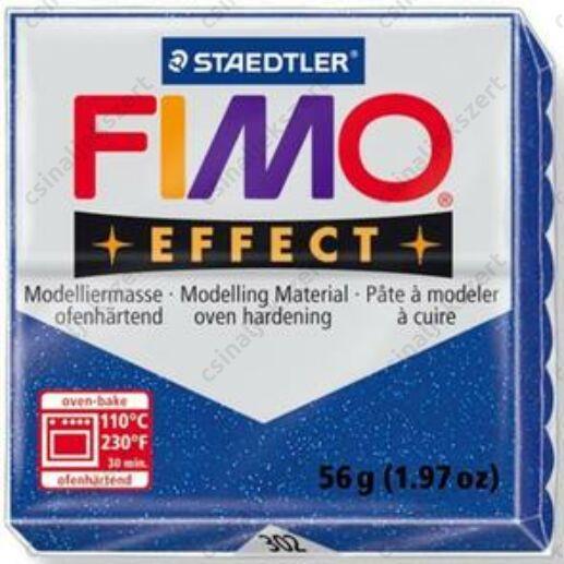 Fimo Effect süthető gyurma 56g Csillámos Kék 302