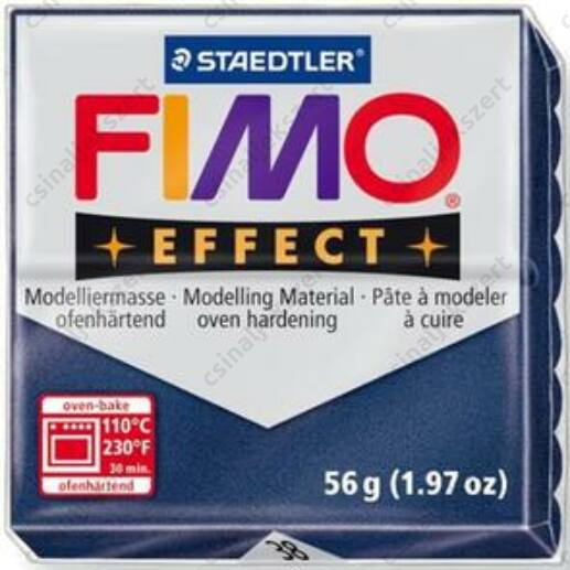 Fimo Effect süthető gyurma 56g Metál Zafír 38