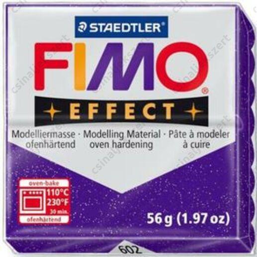 Fimo Effect süthető gyurma 56g Csillámos Lila 602
