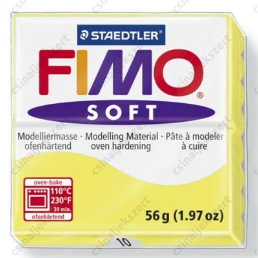 Fimo Soft süthető gyurma 56g Citrom / Lemon 10