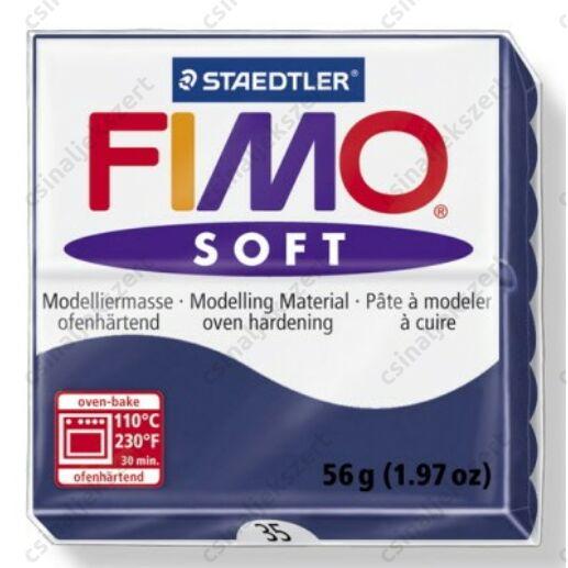 Fimo Soft süthető gyurma 56g Windsor kék / Windsor Blue 35