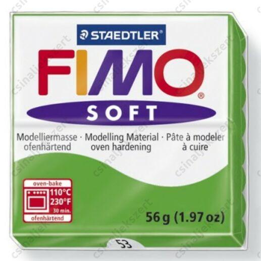 Fimo Soft süthető gyurma 56g Trópusi Zöld / Tropical Green 53