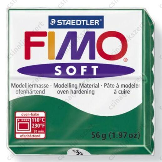 Fimo Soft süthető gyurma 56g Smaragd / Emerald 56