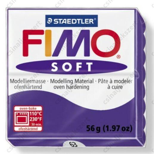 Fimo Soft süthető gyurma 56g Szilva / Plum 63