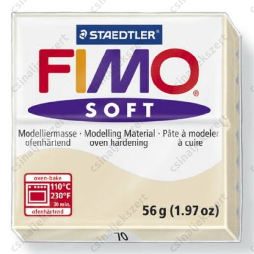 Fimo Soft süthető gyurma 56g Homok / Sahara 70