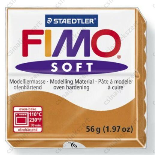 Fimo Soft süthető gyurma 56g Konyak / Cognac 76
