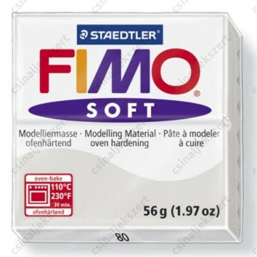 Fimo Soft süthető gyurma 56g Delfinszürke / Dolphin grey 80