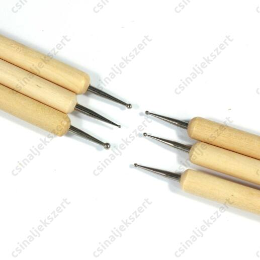 3 darabos Gömb fejű formázó eszköz szett