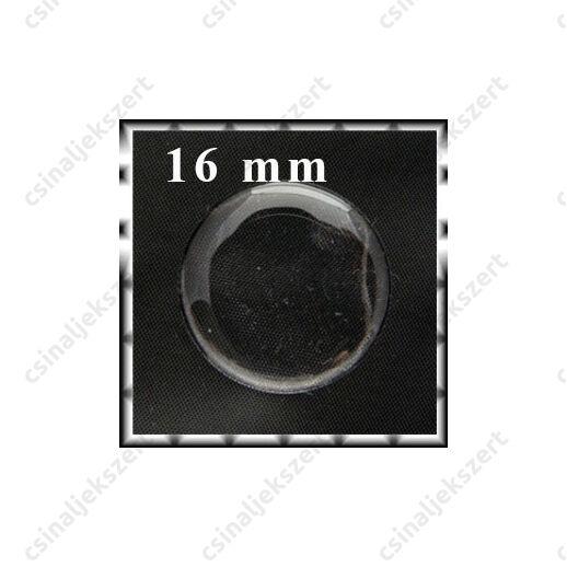 Áttetsző öntapadós matrica kör 16 mm
