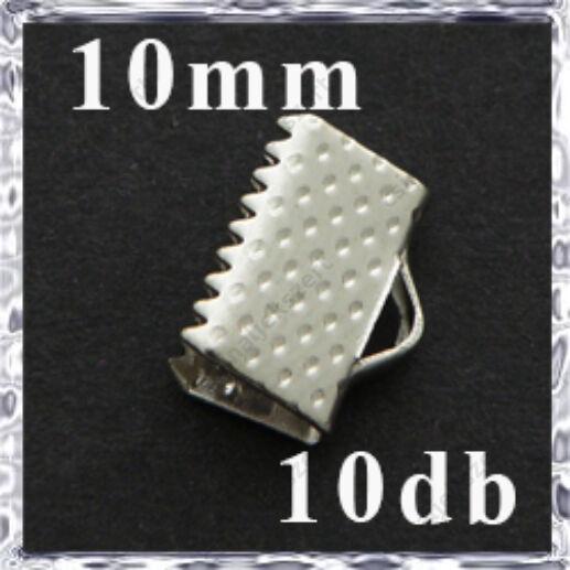 Ródiumos szalagvég 10 mm